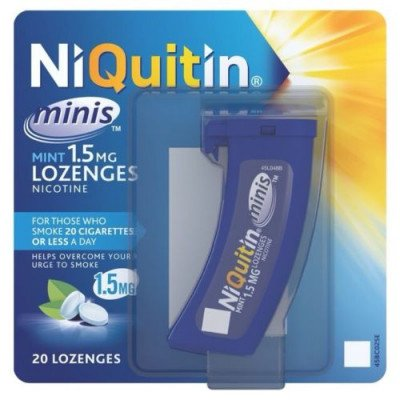 Niquitin lozenges mini mint 1.5mg 20 pack
