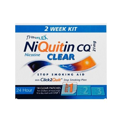 Niquitin patches clear 21mg 14 pack