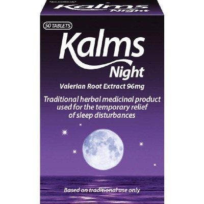 Kalms night herbal sedative tablets 50 pack