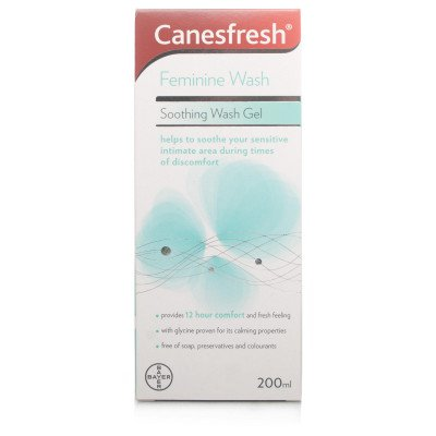 Canesten canesfresh soothing wash gel 200 ml