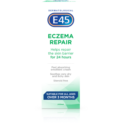E45 eczema repair cream 200ml