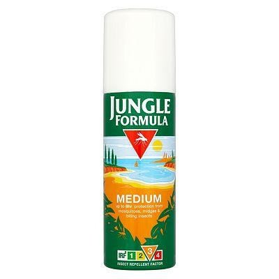 Jungle formula insect repellent aerosol medium 125ml
