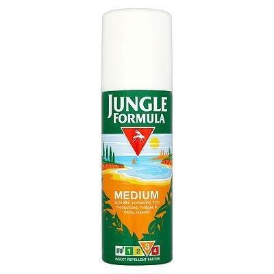 Jungle formula insect repellent aerosol medium 125ml