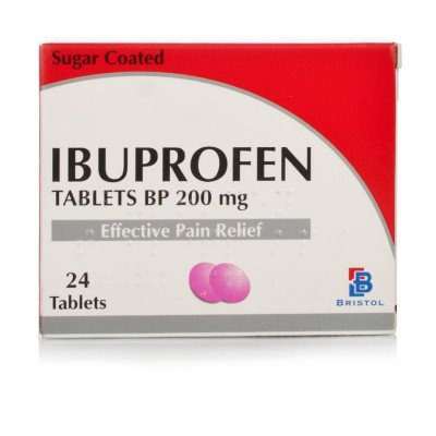 Ibuprofen tablets 200mg 24