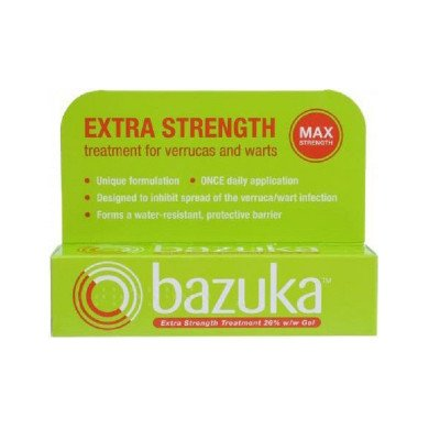 Bazuka extra strength treatment gel 26% w/w 6g