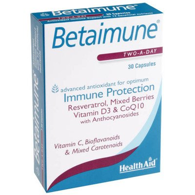 Healthaid allergy/health support range betaimune capsules 30 pack