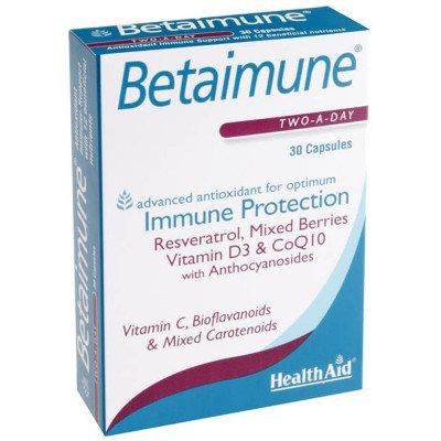 Healthaid allergy/health support range betaimune capsules 30 pack