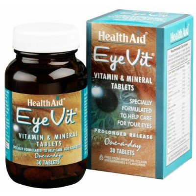 Healthaid lifestyle range Eye-Vit tablets p/r 30 pack