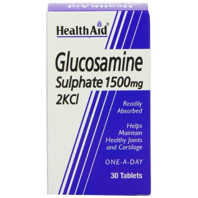 Healthaid supplements glucosamine sulfate tablets 1500mg 30 pack