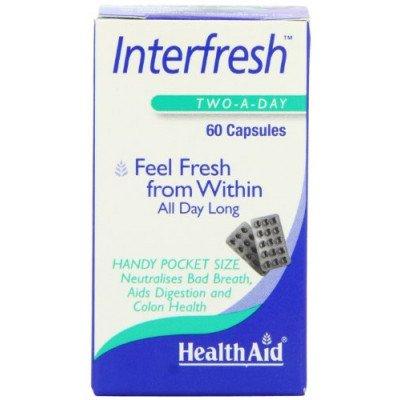 Healthaid lifestyle range Inter Fresh Interfresh Capsules 50 pack