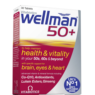 Wellman 50+ tablets 30 pack