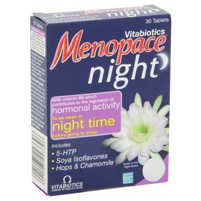 Menopace night tablets 30 pack