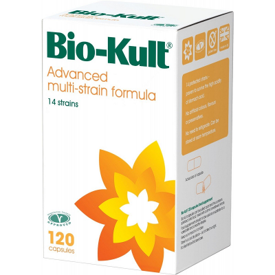 Bio-kult probiotic capsules 200mg 120 pack