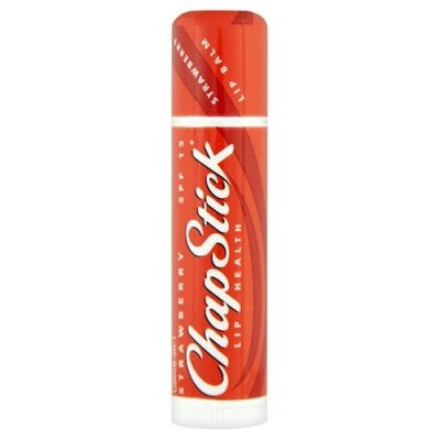 Chapstick lip balm strawberry single