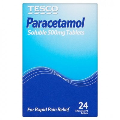 Paracetamol soluble tablets 500mg 24