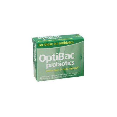 Optibac probiotic food supplements for those on antibiotics 10 pack