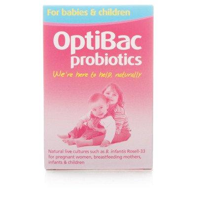 Optibac probiotic food supplements for babies & children 10 pack