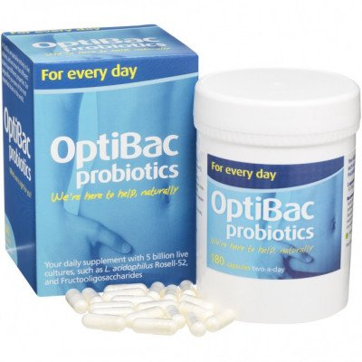 Optibac probiotic food supplements for every day 180 pack