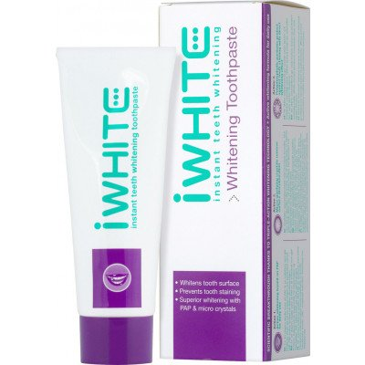 Iwhite instant teeth whitening toothpaste 75ml 1 pack