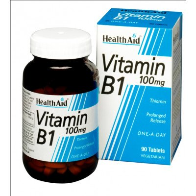 Healthaid vitamin B supplements B1 90 pack