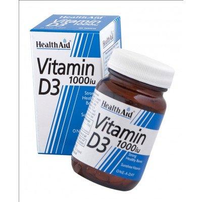 Healthaid vitamin D supplements vitamin D tablets 1000iu 30 pack
