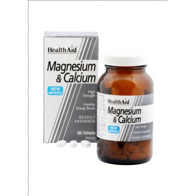 Healthaid mineral supplements magenesium & calcium tablets 90 pack