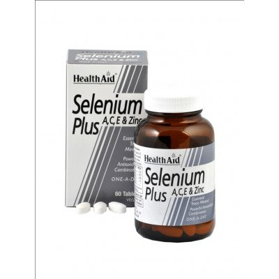 Healthaid mineral supplements selenium plus ace & zinc capsules 60 pack