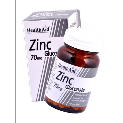 Healthaid mineral supplements zinc gluconate tablets 70mg 90 pack
