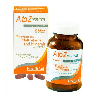 Healthaid multivitamin & mineral supplements A-Z tablets 90 pack