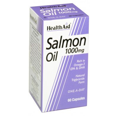 Healthaid supplements salmon oil capsules 1000mg 60 pack