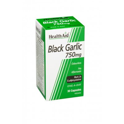Healthaid garlic supplements black garlic capsules 30 pack