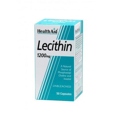 Healthaid lifestyle range lecithin  capsules 1200mg 50 pack