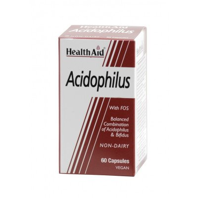 Healthaid lifestyle range acidophilus vegicaps 60 pack
