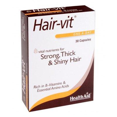Healthaid lifestyle range Hair-Vit capsules 30 pack