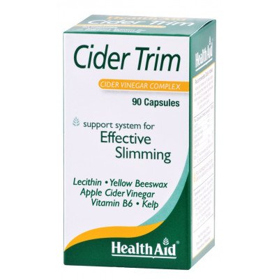 Healthaid slimmers supplements Cider Trim 90 pack