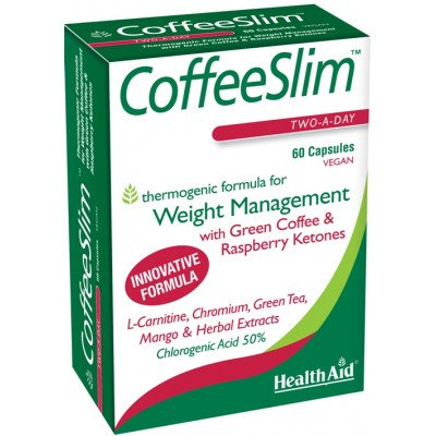 Healthaid slimmers supplements CoffeeSlim 60 pack
