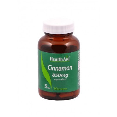 Health Aid cinnamon 850mg capsules