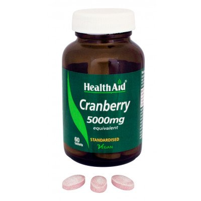 Healthaid allergy/health support range cranberry extract 60 pack