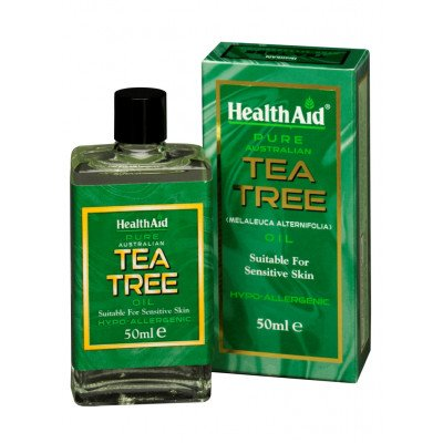 Healthaid pure essential oils tea tree oil 50ml