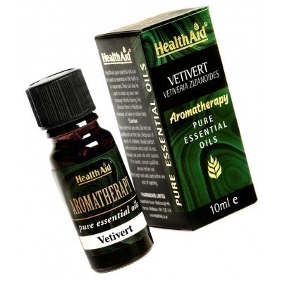 Healthaid pure essential oils vetiver oil 10ml