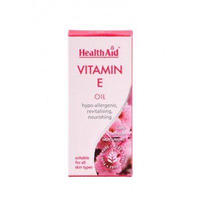 Healthaid cosmetics & toiletries vitamin E oil 50ml