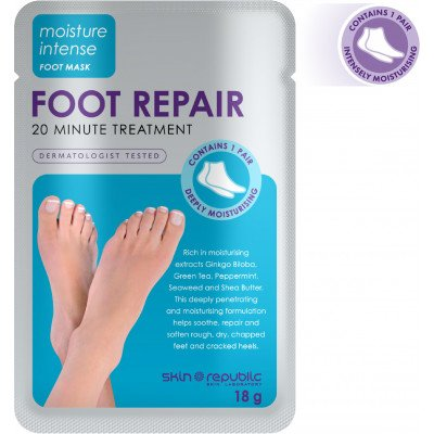 Skin Republic Foot Repair 18G (10 Pk)