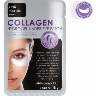 Skin Republic Collagen Under Eye Patch  3 Pairs 18G (10 Pk)