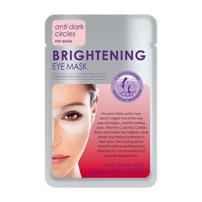 Skin republic eye mask brightening 23ml