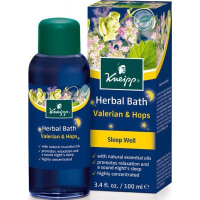 KNEIPP herbal bath valerian & hops 100ml