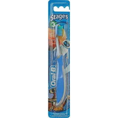 Oral-b toothbrush stage 3 wall-e/princess 5-7yrs