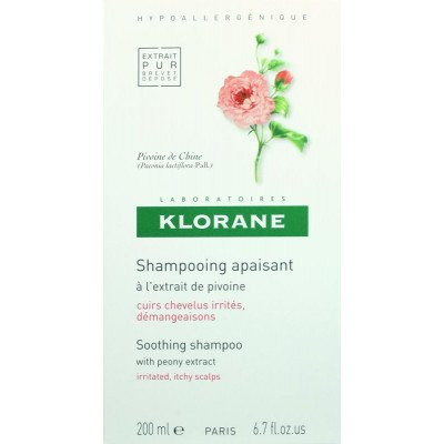 Klorane shampoo irritated scalp peony 200ml