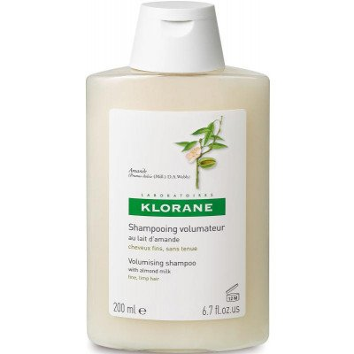 Klorane shampoo volumising almond milk 200ml