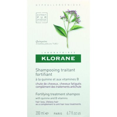 Klorane shampoo hair loss quinine & vit B6 200ml