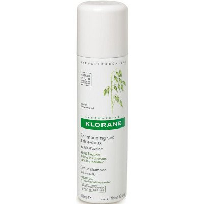 Klorane shampoo dry spray oatmilk 150ml